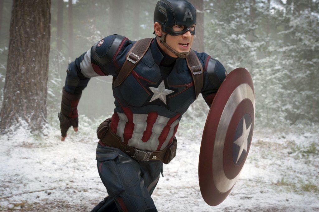 克里斯伊凡扮演的「美國隊長」史蒂夫羅傑斯另有「美國翹臀」的妙稱。圖/摘自imdb