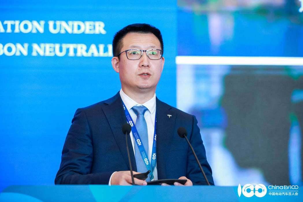特斯拉中國區總經理王昊(取自澎湃新聞)