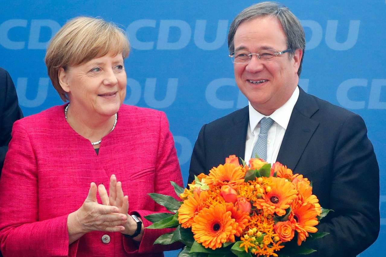 德國基民黨新主席拉謝特出線 有望接班梅克爾