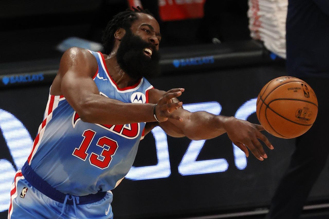 NBA/今日戰績表 哈登籃網首戰以大三元助勝