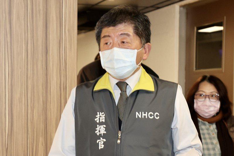 中央流行疫情指揮中心指揮官陳時中表示,案839女護理師在院外有上課,接觸到的除了同班同學外,這幾天擴大將使用過同場地的人379人,包括370名學生、司機與9名老師。記者林伯東/攝影