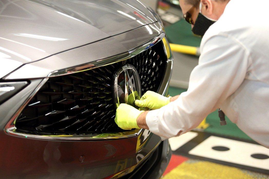 Acura MDX旗艦休旅正式投產。 圖/Acura提供