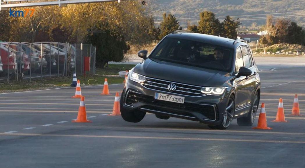 2021 Volkswagen Tiguan的麋鹿測試成績令人驚訝!