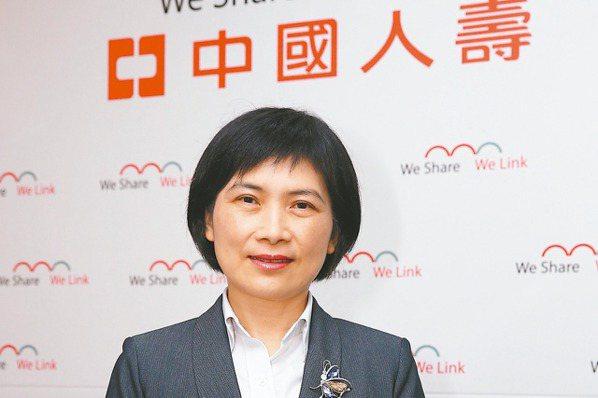 中壽董事長黃淑芬