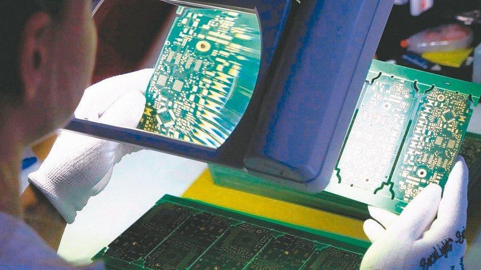 PCB產業示意圖。路透