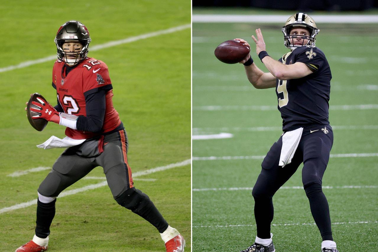 NFL/布雷迪與布里斯傳奇對決 註定將是名留青史季後賽
