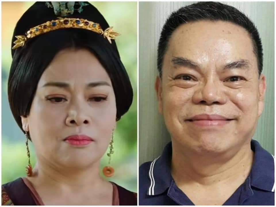 史可(左)演出「王皇后」被台灣網友形容神似資深藝人蔡頭。圖/摘自臉書