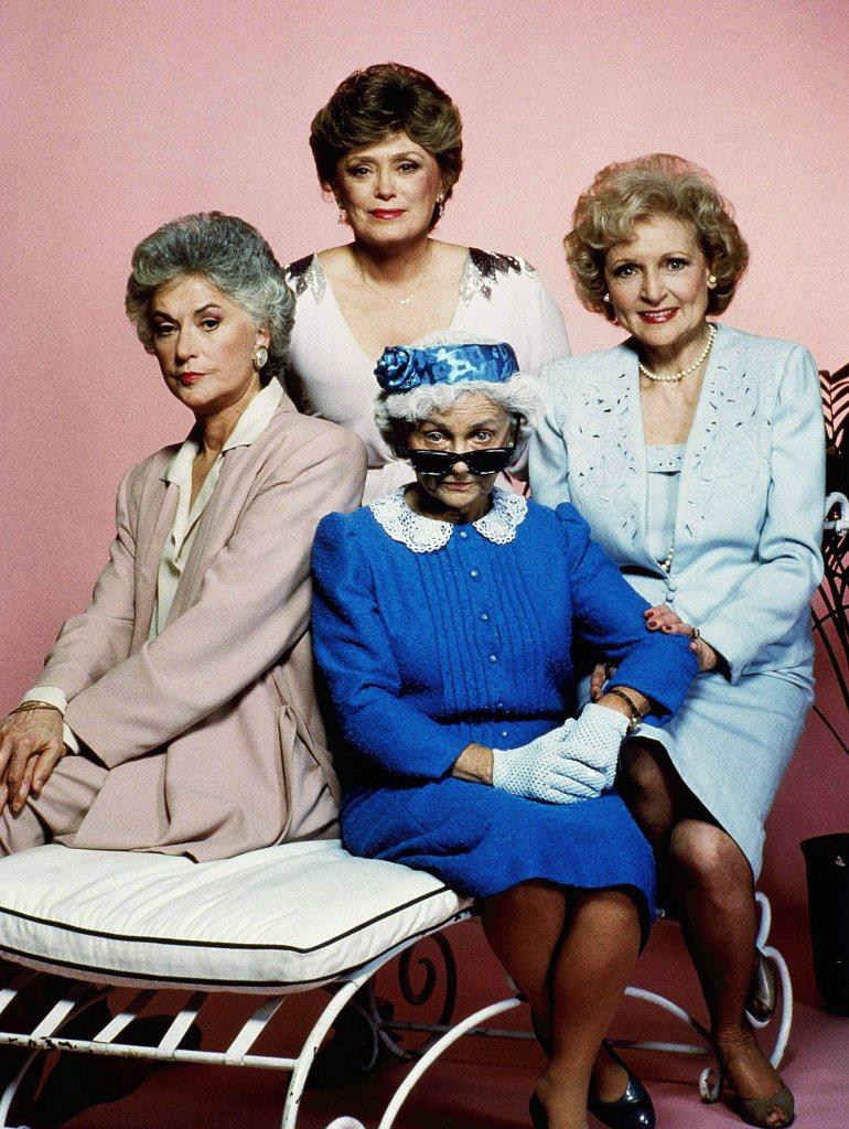 「黃金女郎」主角碧亞瑟(左起)、魯麥克蘭那罕、艾絲黛拉蓋提都已去世,只有貝蒂懷特...