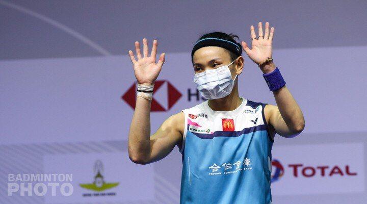 戴資穎決賽身體不適,無緣冠軍。圖/Badminton Photo提供