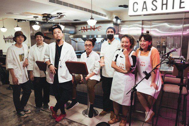 「顏社煮場秀」,國蛋 X Everywhere burger club。圖/顏社...