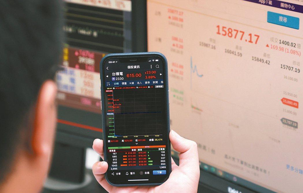 台股鼠年封關倒數,行情市況熱鬧非凡,近三個月加權股價指數勁揚24.4%。(本報系...