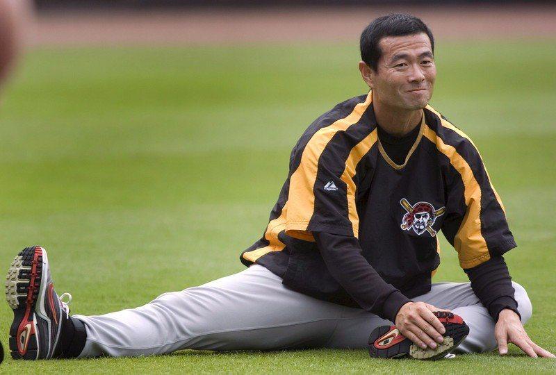 桑田真澄在球員生涯晚期曾效力海盜隊。 歐新社