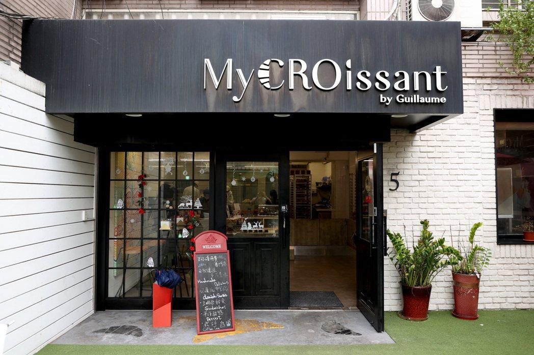 吉可頌丹麥專賣店位於大安區巷弄間,擁有不少特地造訪的忠實顧客。 圖/余承翰攝影