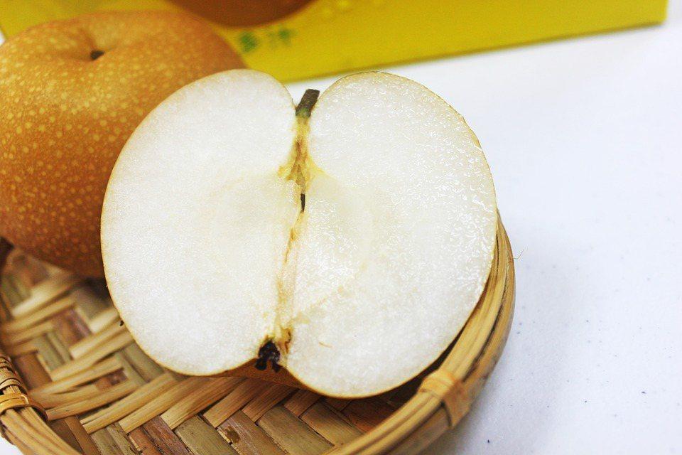 梨子風味佳,甜脆多汁、清香美味。 圖/pixabay
