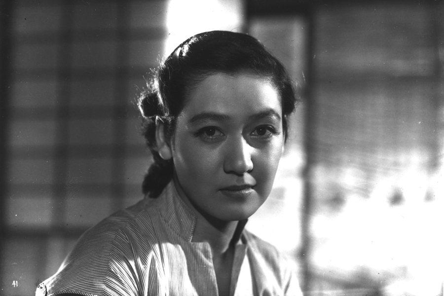《東京物語》裡的原節子。 圖/IMDb