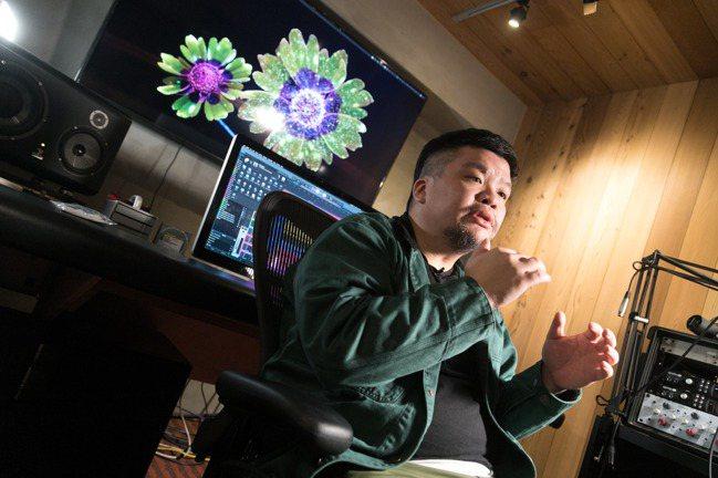 迪拉對嘻哈音樂的展演形式有許多想法。(陳立凱/攝影)