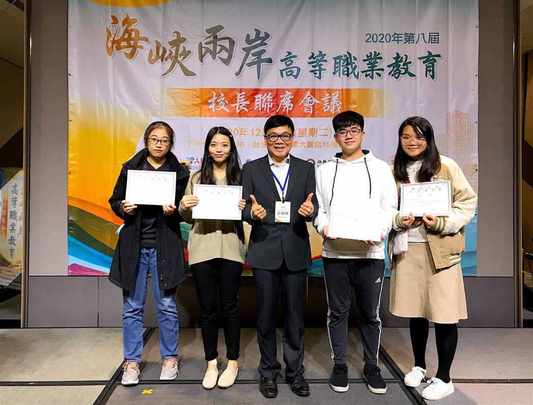 文創系學生團隊以《約定》勇奪一等獎。龍華科大/提供