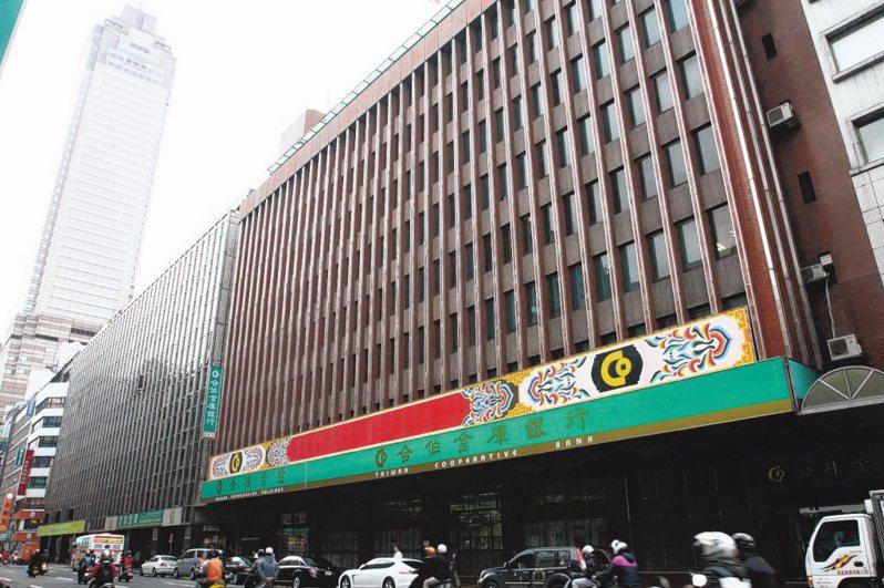合作金庫銀行。 圖/報系資料照