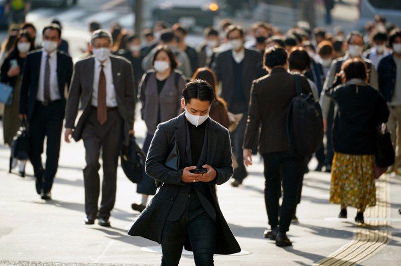 變種病毒在日本可能已有社區感染的情形。 歐新社