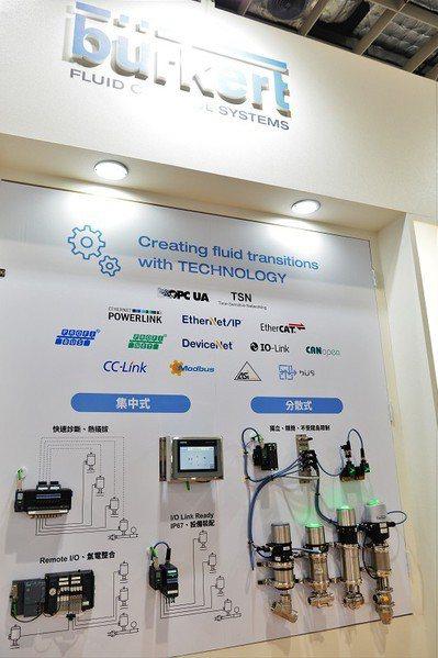 圖1 : 台灣寶帝透過與同為歐系大廠西門子公司(Siemens)合作,推出一系列依應用導向為主,為客戶量身打造OT+IT的現場解決方案。(攝影/陳念舜)