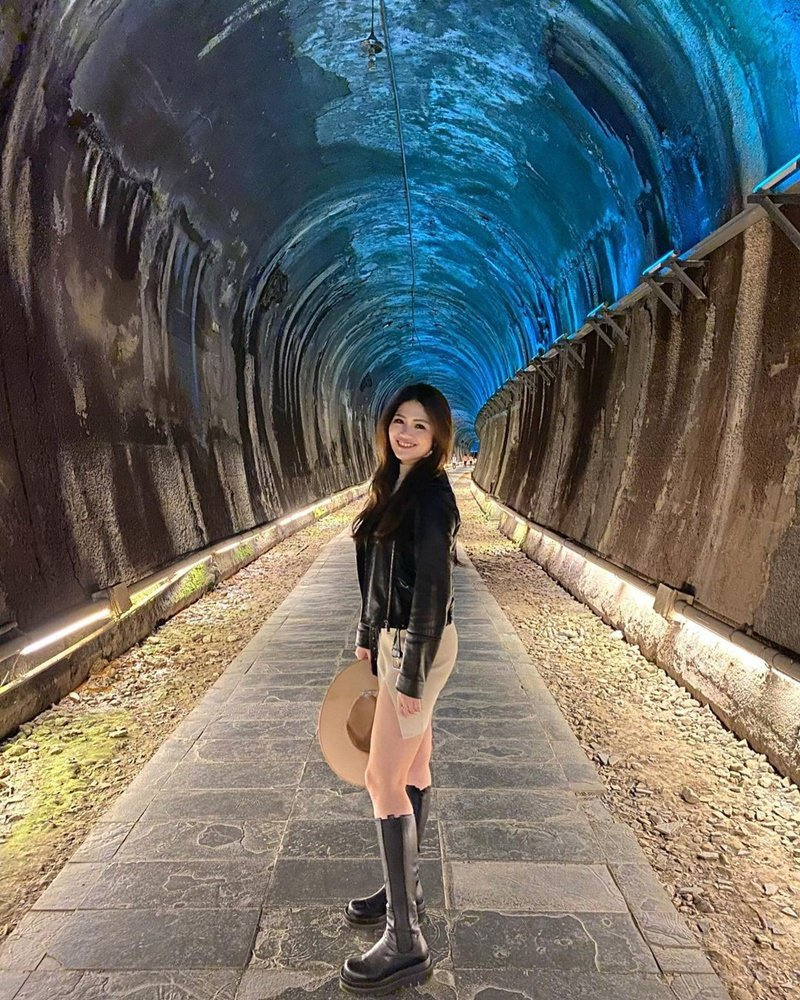 ▲銅鑼周邊景點推薦-功維敘隧道。(圖/sally7968, Instagram)