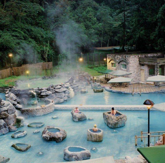 鳩之澤溫泉。 圖/太平山國家森林遊樂區官網