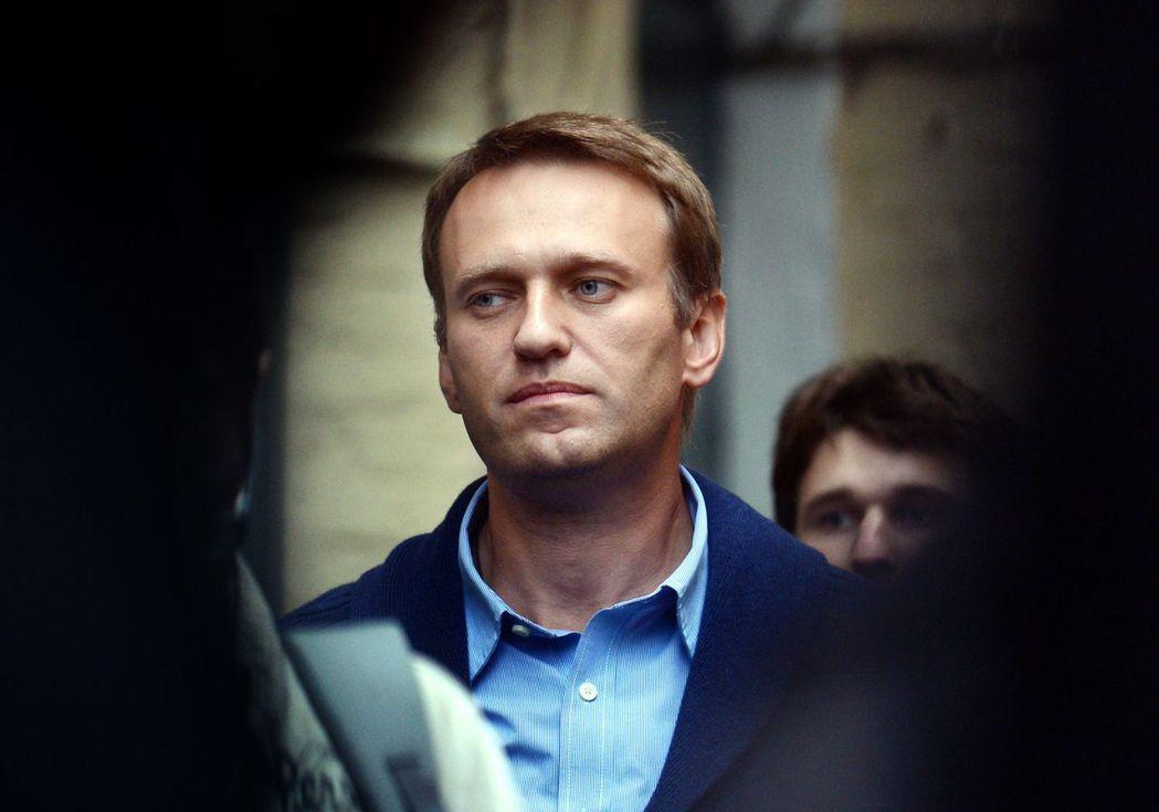 俄羅斯反對派領袖納瓦尼。法新社