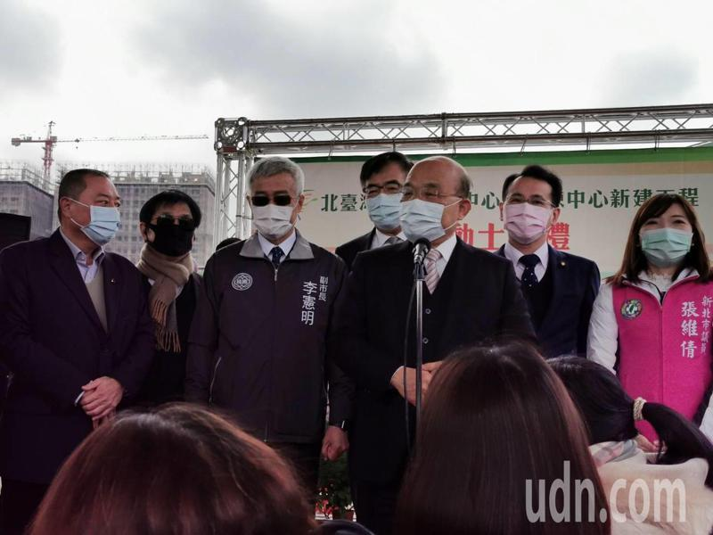 針對石木欽案外案,蘇貞昌表示要嚴查嚴辦。記者曾增勳/攝影