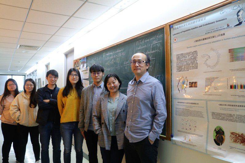 物競天擇,台灣漢人在千年的演化過程中,到底有哪些競爭優勢被保留至今?陽明大學透過基因體序列分析,找出五個關鍵基因。圖/陽明大學提供