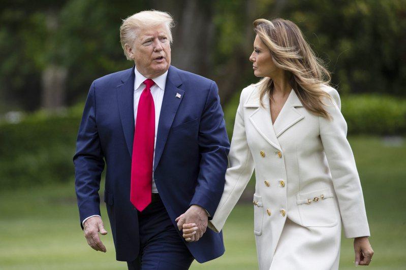 川普夫婦在白宮4年擅長用衣著打造公眾形象,用衣櫃來建立川普王國。美聯社