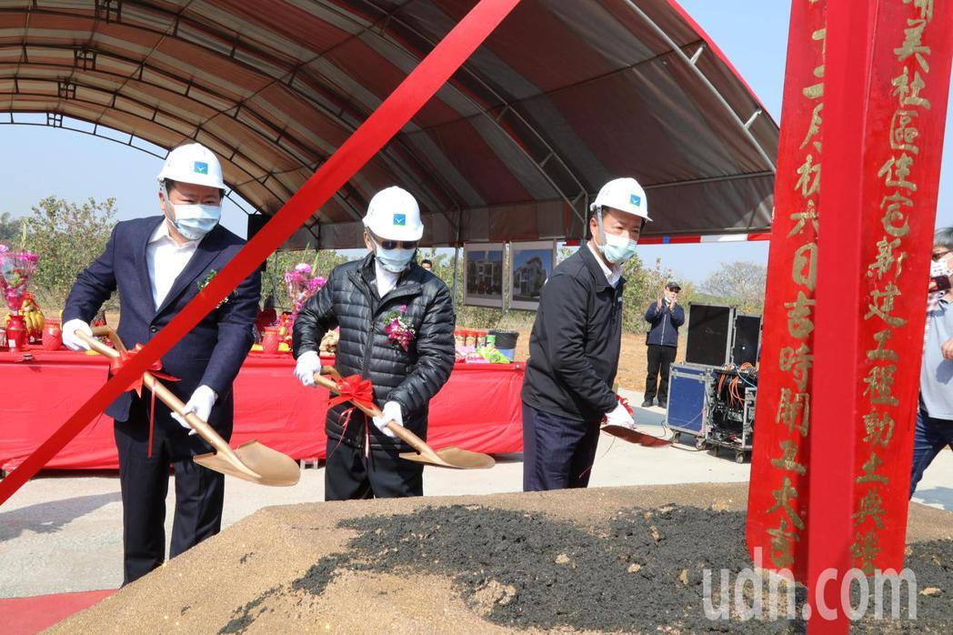 和大公司為提供員工居住需求,在嘉義縣大林鎮大埔美園區一期申購2015坪的社區用地...