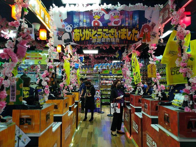 「DON DON DONKI 西門店」1月19日正式開幕。記者黃仕揚/攝影