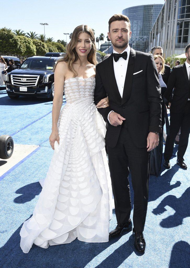 潔西卡貝兒與賈斯汀去年已經再添一子,度過婚變危機。圖/路透資料照片