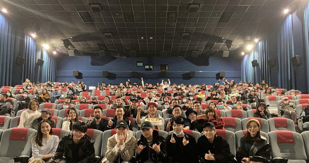 「叱咤風雲」上映兩天破600萬,空降華語新片冠軍!圖/創映電影、量能影業提供