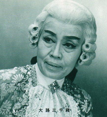 大路三千緒早年在寶塚歌劇團常演出男性角色。圖/摘自twitter