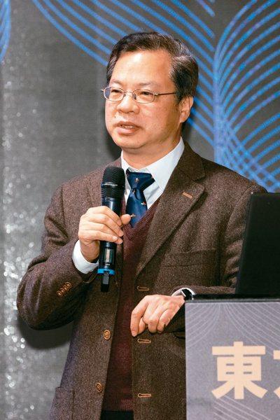 台灣上市櫃公司協會舉辦東方領袖講座,邀請國發會主委龔明鑫專題演講。記者季相儒/攝影