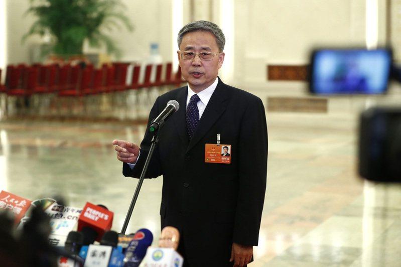 陸銀保監會主席郭樹清(中新社)