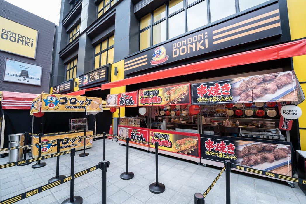 唐吉訶德DON DON DONKI西門店,打造激似日本的風格店舖。 圖/DON ...