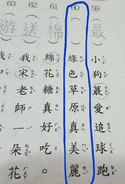 一名台灣媽媽日前在臉書上發文求救,表示孩子的國文作業裡要從句子找出錯字,但卻都找不到。圖擷自臉書