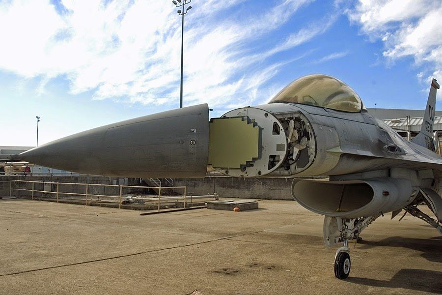 APG-83 AESA雷達。 圖/Northrop Grumman公司