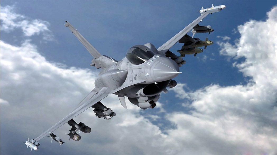 F-16 Block 70 戰機。 圖/Lockheed Martin公司