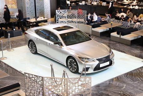 大和旗艦房車小改登場 LEXUS LS 500h售價475萬起