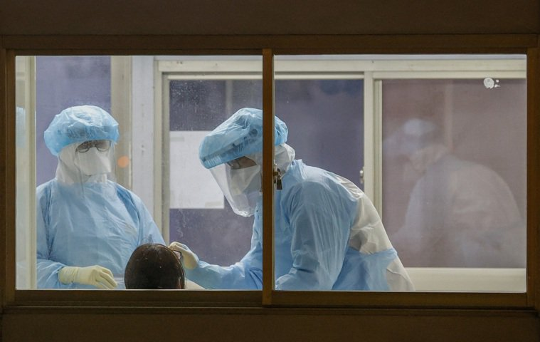 部立桃園醫院院內感染增加。記者鄭超文/攝影