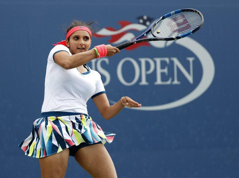 前網球女雙球后蜜兒札自爆染疫。 美聯社