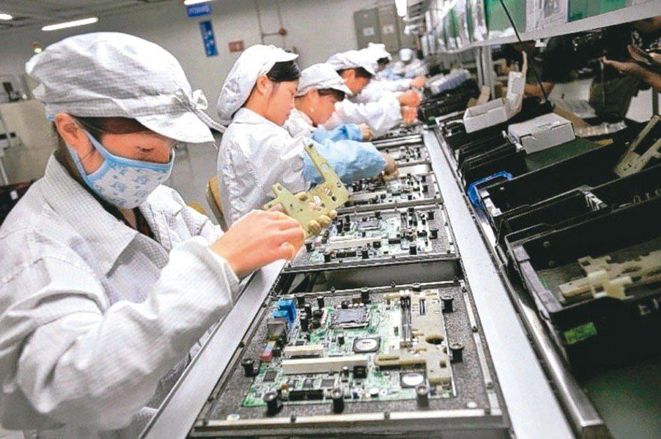 筆電代工廠示意圖。 本報資料照片