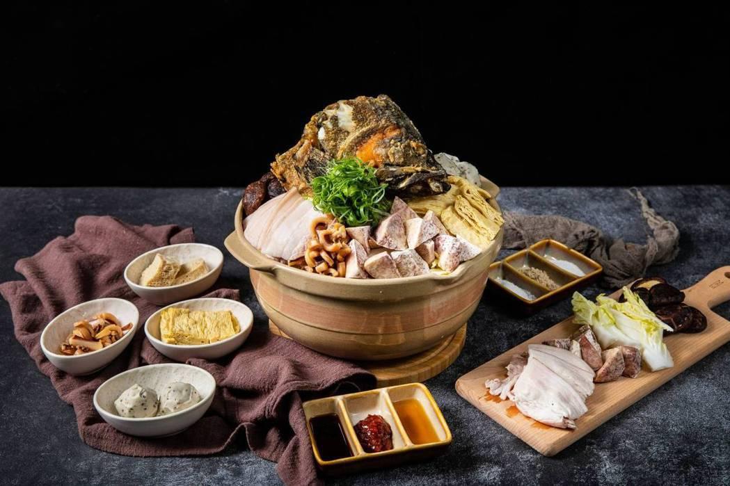豐盛的XO沙茶魚頭鍋。中華基督教救助協會/提供