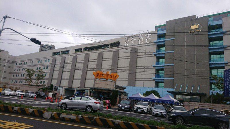圖為京元電子廠區。記者范榮達攝影/報系資料照