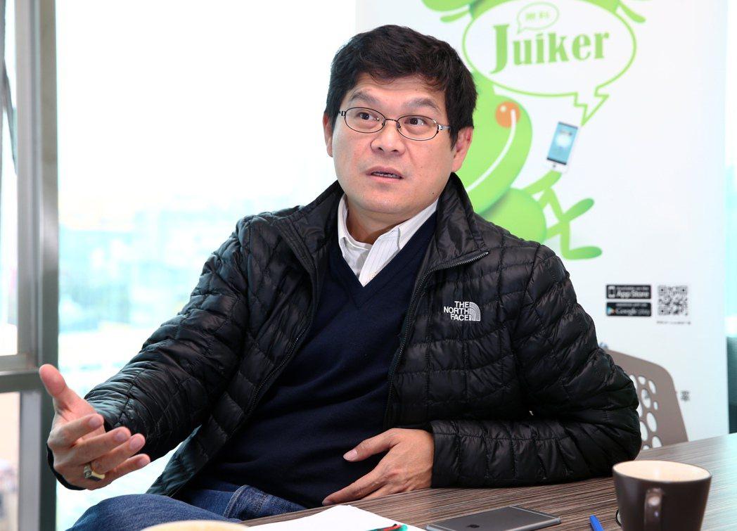源思科技董事長黃肇嘉。 報系資料照