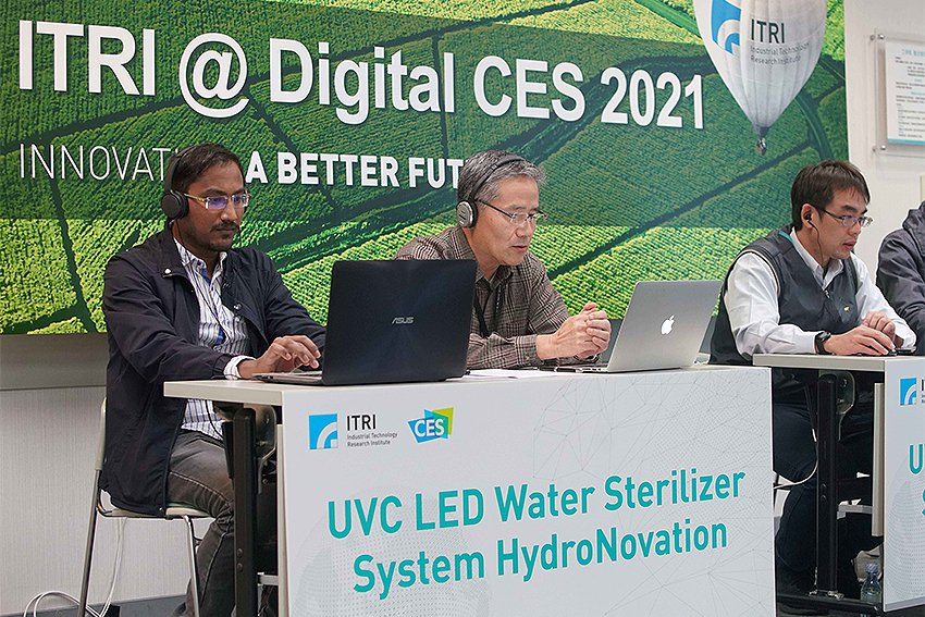 工研院在CES展出的創新科技深好好評,搭配近30人的國際技術服務團隊,已為美、德...