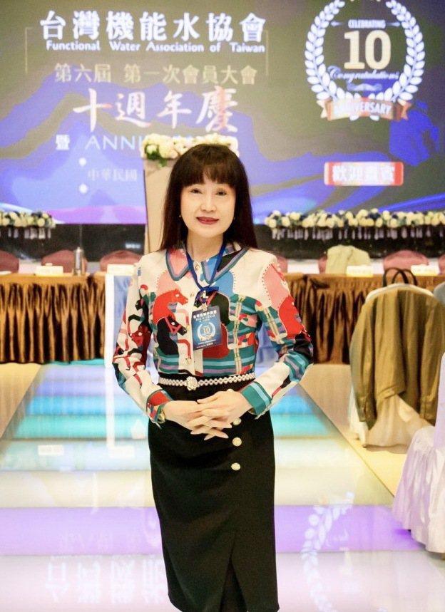 台灣機能水協會第6屆新任理事長游雅淇。 千毓利淘公司/提供